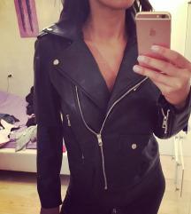 Zara kozna jakna crna