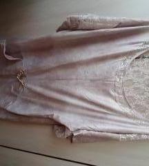 Elegantna, neobicna krem tunika