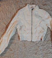 Bež kratka jakna