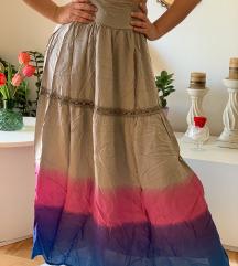 Duga ombre suknja