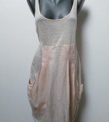 ZARA  letnja haljinica svila 40