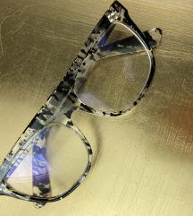 Becci nove naočare crno providne