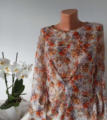 PRONTO cvetna lagana bluza vel M/L