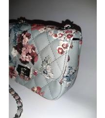 Nova Diana & Co cvetna plava torbica