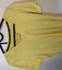 Žuta muška majica
