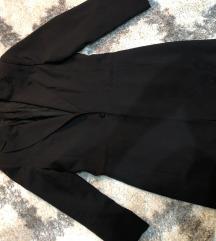 Duzi crni sako/mantilic