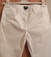 H&M bele tanje pantalone kao nove S