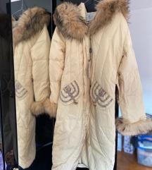 Nova zimska jakna, pravo krzno
