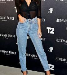 %%%Zara novi Jeans(sa slike model) dubok struk%%