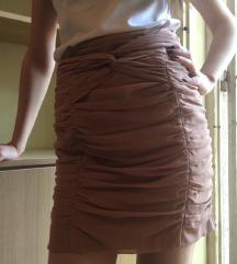 Prljavo roze suknja H&M
