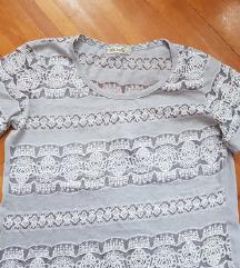 Prelepa nova cipkana majica