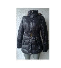 crna perjana jakna BERSHKA broj M