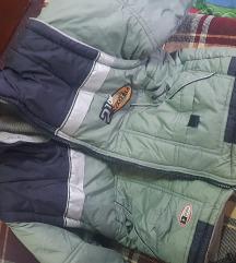 Decija zimska jakna plus prsluk