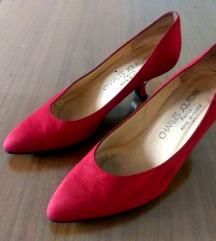 500e Charles Jourdan luksuzne kožne cipele br 37