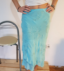 Sahara midi suknja u valovima