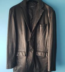 Muska kozna jakna sako L