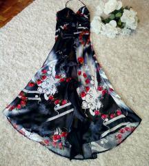 snizeno!!! Prelepa leprsava dugacka haljina