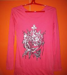 Roze Bodi bluzica