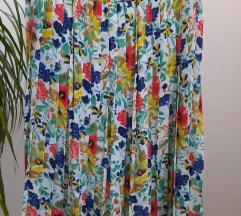 Vintage cvetna suknja