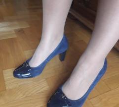 LASOCKI teget kozne cipele NOVE 25,5cm
