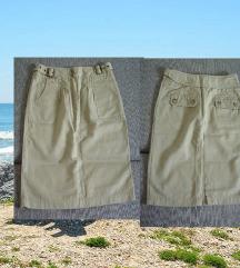 Casual  duboka suknja do kolena S/m SADA100