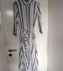 Zara haljina na pruge duza