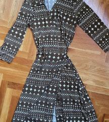 Savršwna retro haljina na preklop S/M