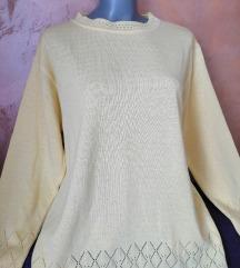 Žuti džemper tunika