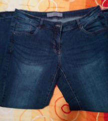 Farmerke cropped denim