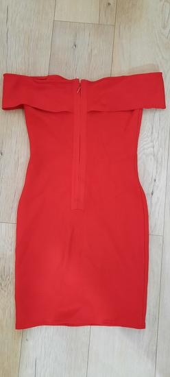 Herve leger crvena haljina