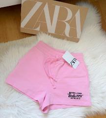 Zara pink Barbie sorts NOV sa etiketom