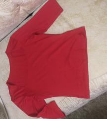crvena elegantna majica
