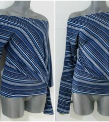 KAO NOVA PRONTO  prugasta bluza na jedno rame S/XS