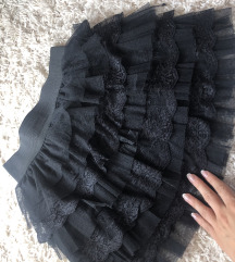Suknja sa faltnama preslatka