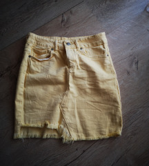 Zuta suknja
