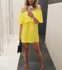 Preslatka žuta haljina
