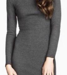 H&M siva haljina Nova sa etiketom