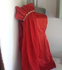 Nazz uk crvena svecana haljina M/L