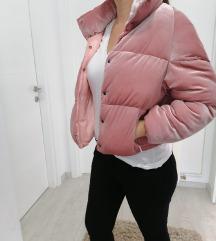 Roza plisana jakna S