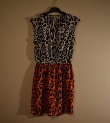Šarena tigrasta haljinica