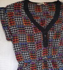 Vintage haljina,strukirana, novo
