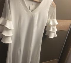 Bela haljina NOVA SA ETIKETOM