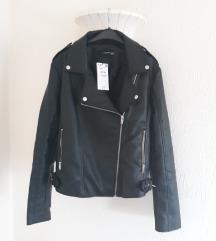 Nova kozna biker jakna sa etiketom Reserved