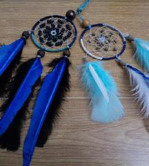 Ogrlice hvatac snova plavo - crno - bela