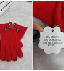 Italy * angora vuna rukavice * NOVO