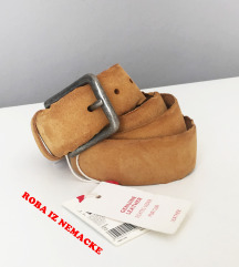 ESPRIT genuine leather, ETIKETA oker