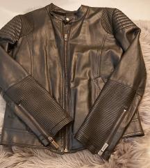 Muska zimska kozna jakna vel M - NOVA