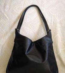Banana Republic kožna crna torba