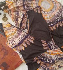 %%%Maxi boho/hippie haljina