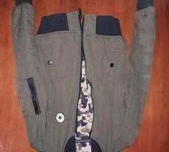 Bomber jakna za decaka sa DVA lica